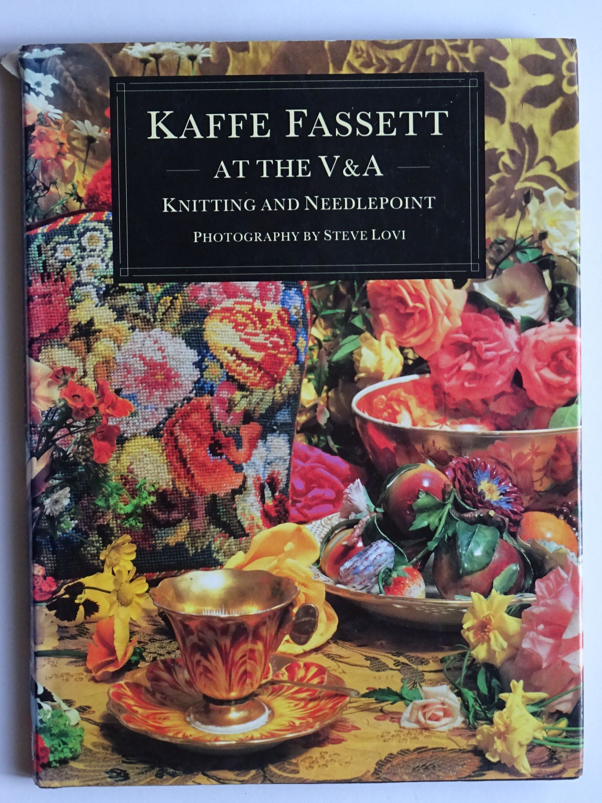 Kaffe Fassett at the V & A - Knitting and Needlepoint