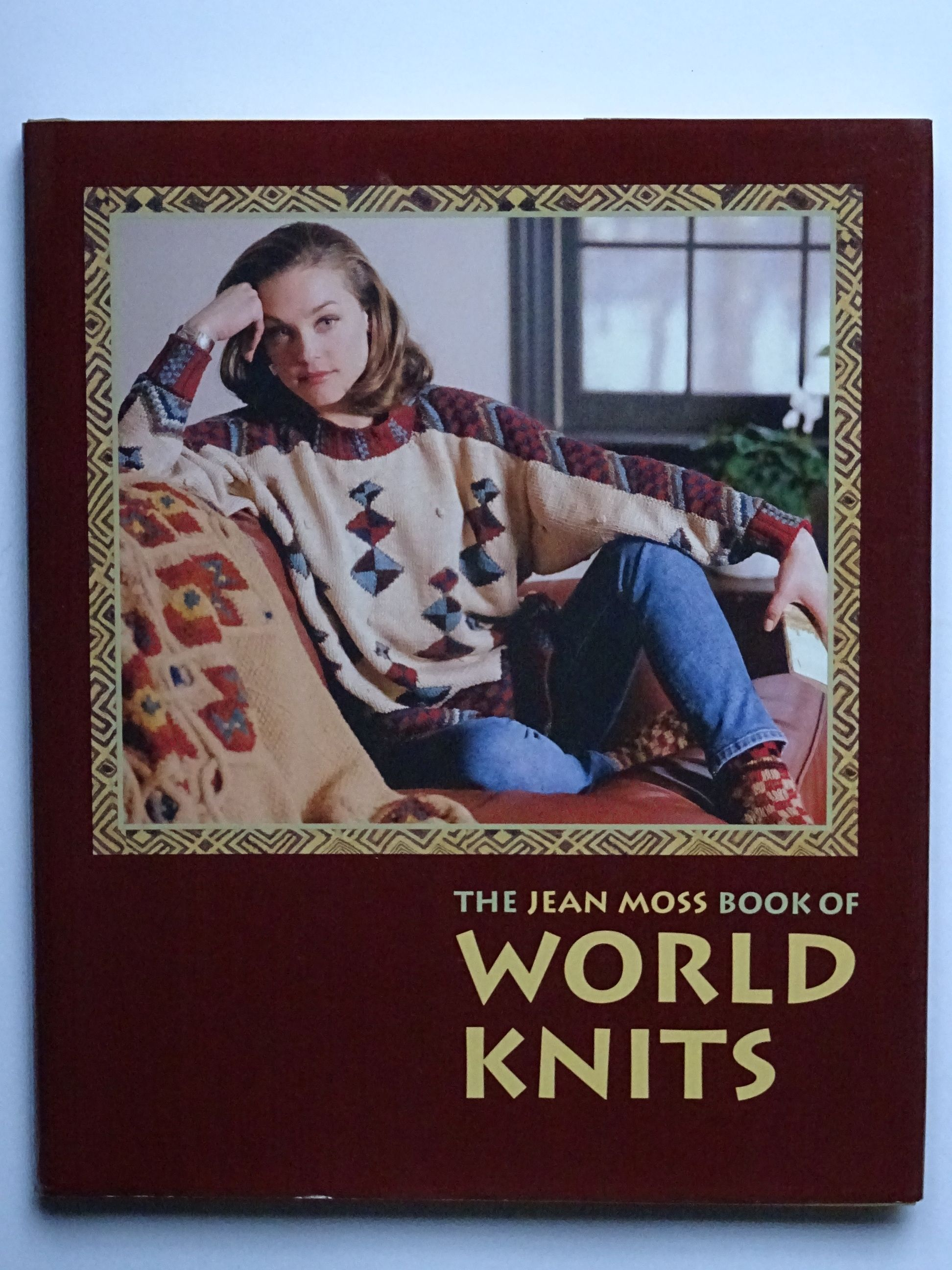 Moss, Jean - The Jean Moss Book of World Knits